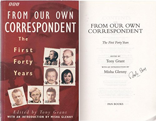 """""""From Our Own Correspondent"""" By Tony Gordon"""