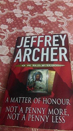 Matter Honour/Not a Penny (Duo) By Jeffrey Archer