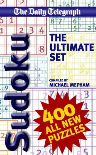 The Daily Telegraph: Ultimate Sudoku Set By Michael Mepham