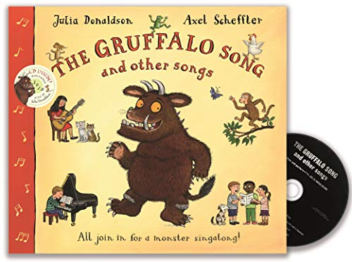 The Gruffalo Song and Other Songs Book and CD Pack By Julia Donaldson