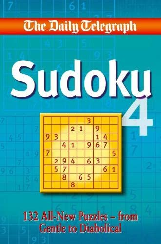 Daily Telegraph Sudoku 4 By Telegraph Group Limited