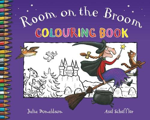 Room on the Broom Colouring Book By Julia Donaldson