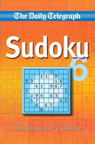 Daily Telegraph Sudoku 'Connoisseur Edition' By Telegraph Group Limited
