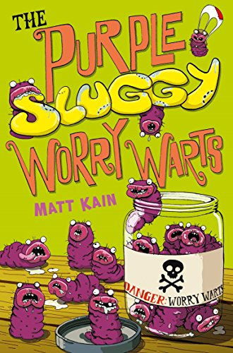 Quentin Quirk's Magic Works :Purple Sluggy Worry Warts By Matt Kain