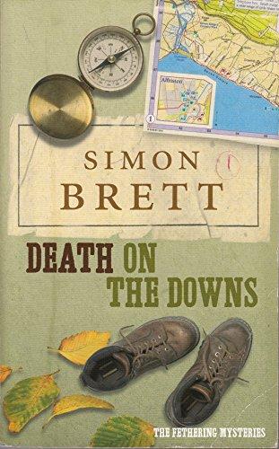 Death on The Downs By simon-brett