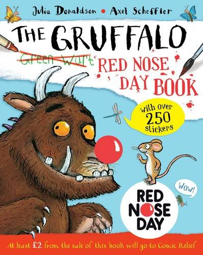 Gruffalo Red Nose Day Book 24-copy counterpack: The Gruffalo Red Nose Day Book: 1 By Julia Donaldson