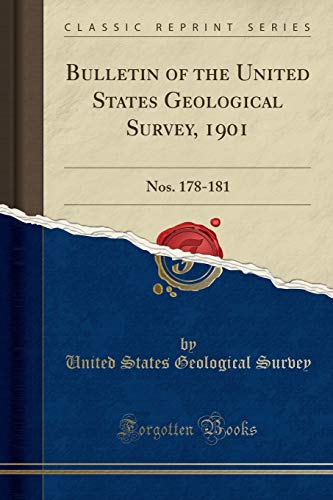 Bulletin of the United States Geological Survey, 1901 By United States Geological Survey