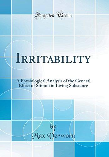 Irritability By Max Verworn