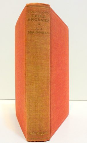 England, Their England By A.G. Macdonell