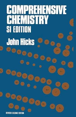 Comprehensive Chemistry: SI Units By John Hicks