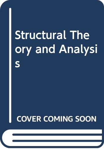 Structural Theory and Analysis By Joseph Derwent Todd