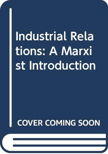Industrial Relations By Richard Hyman