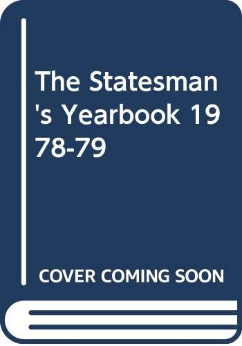 The Statesman's Yearbook By Volume editor John Paxton