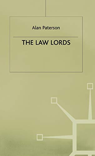 The Law Lords By A. Paterson