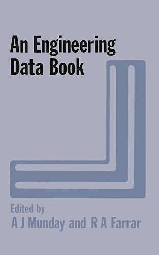 An Engineering Data Book By Alan J. Munday