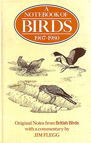 Notebook of Birds By Jim Flegg