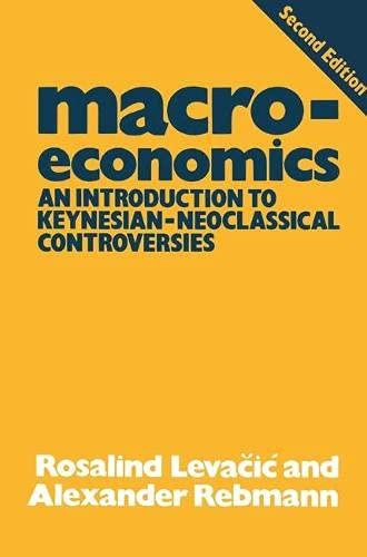 Macroeconomics By Rosalind Levacic