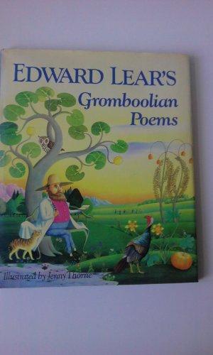 Gromboolian Poems By Edward Lear