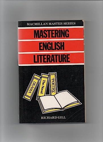 Mastering English Literature By Roma Gill, OBE