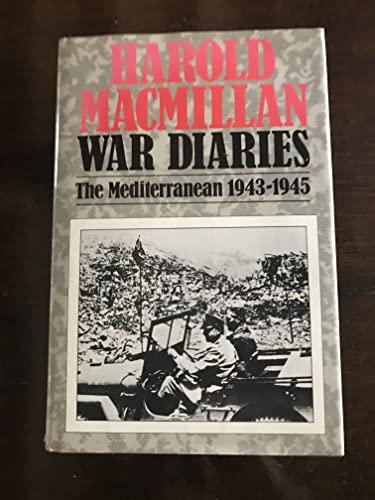 War Diaries By Harold Macmillan