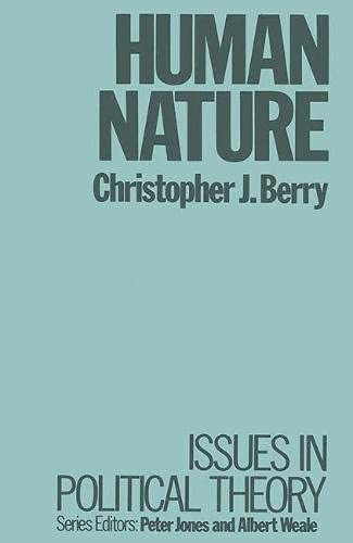 Human Nature By Christopher J. Berry