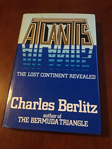 Atlantis By Charles Berlitz