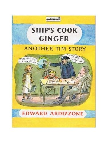 Ship's Cook Ginger By Edward Ardizzone