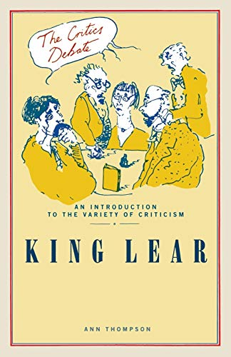 King Lear By Ann Thompson