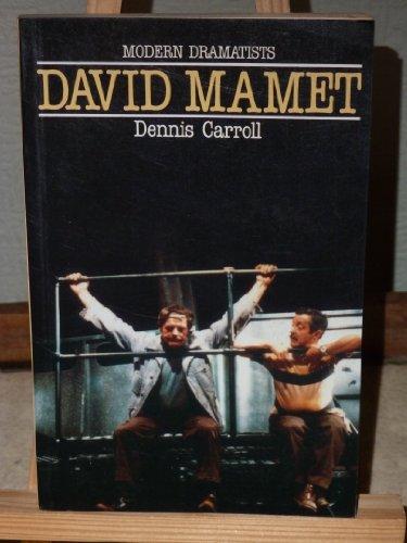 David Mamet By Ira B. Nadel