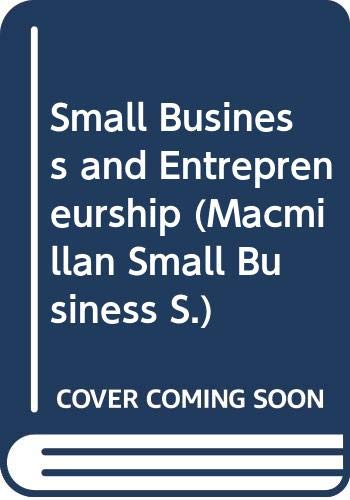 Small Business and Entrepreneurship By Paul Burns