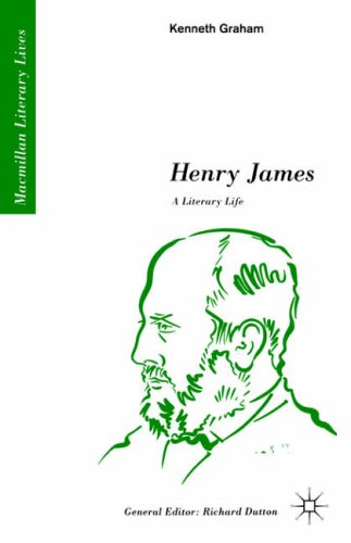 Henry James: A Literary Life By Kenneth Graham