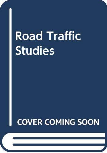 Road Traffic Studies By James McCauley