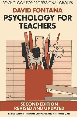 Psychology for Teachers By David Fontana