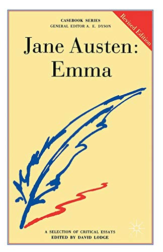 Jane Austen: Emma By David Lodge