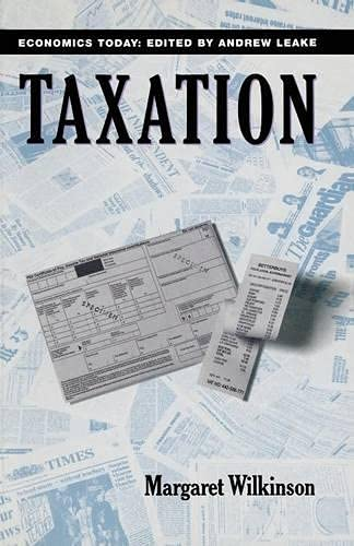 Taxation By Margaret Wilkinson