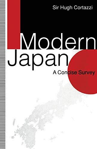 Modern Japan By Hugh Cortazzi