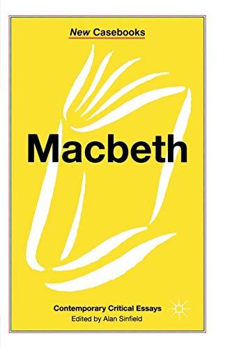 Macbeth By Alan Sinfield