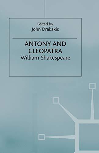 Antony and Cleopatra By John Drakakis