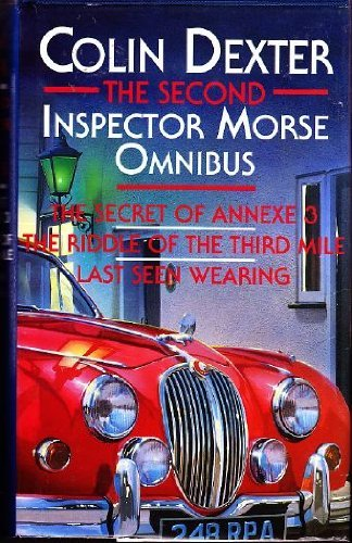 The Second Inspector Morse Omnibus By Colin Dexter