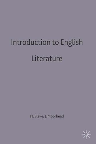 Introduction to English Language By N. F. Blake