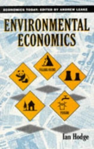Environmental Economics By Ian Hodge