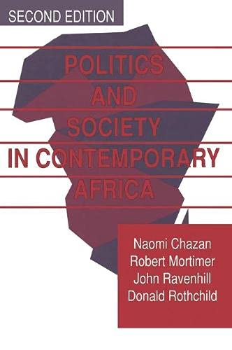 Politics and Society in Contemporary Africa By Naomi Chazan