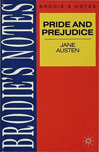Austen: Pride and Prejudice By Graham Handley