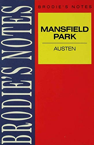 Austen: Mansfield Park By Edited by J. B. E. Turner