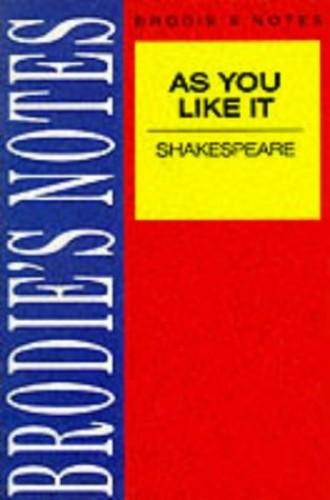 Shakespeare: As You Like It By NA NA