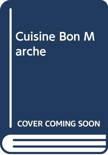 Cuisine Bon Marche by Hugh Fearnley-Whittingstall