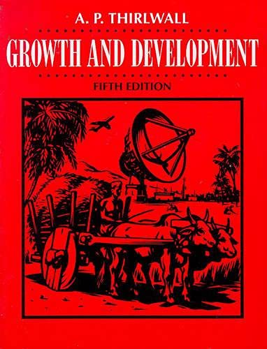 Growth and Development By A. P. Thirlwall
