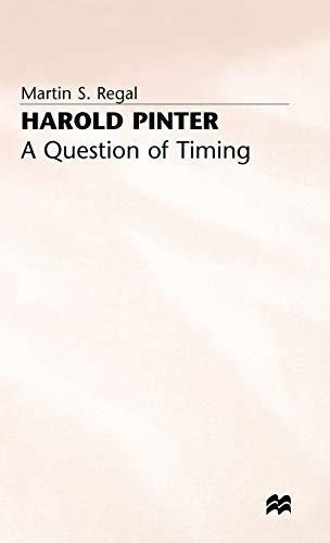 Harold Pinter By Martin S. Regal