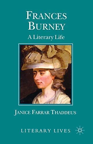 Frances Burney By J. Thaddeus