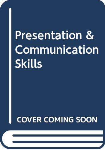 Presentation & Communication Skills By Karen Rawlings